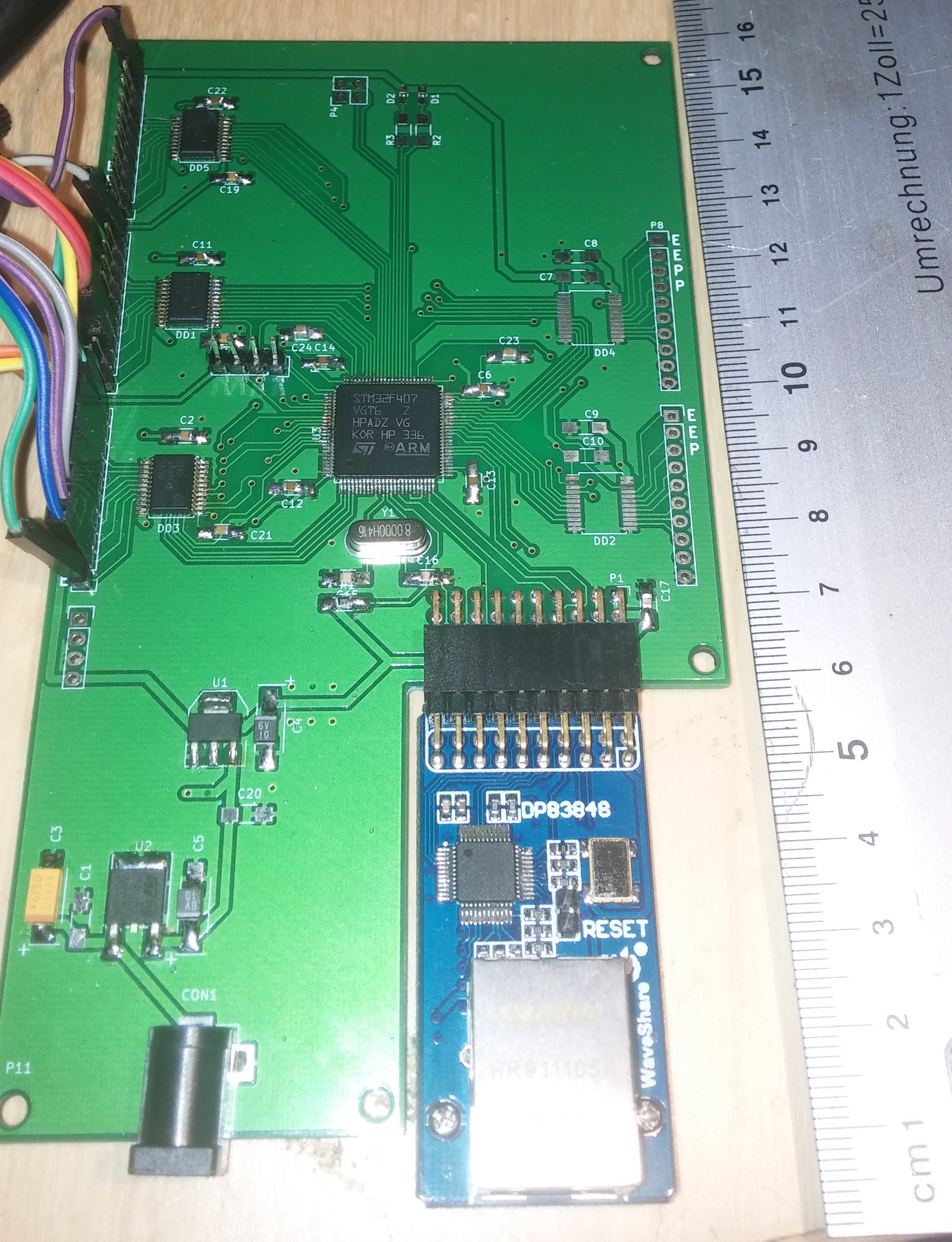 STM32 based Ethernet I/O for LinuxCNC